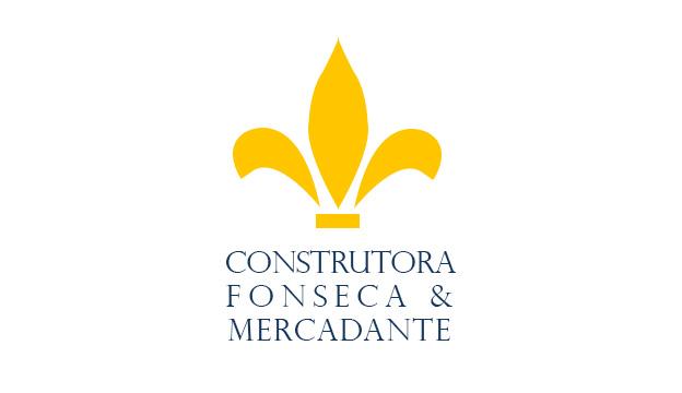 Logotipo Construtora Fonseca & Mercadante