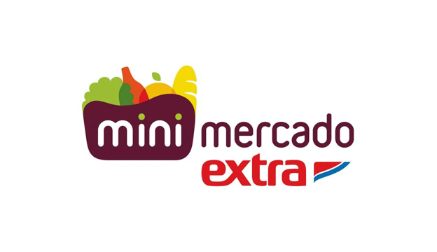 Logotipo Mini Mercado Extra